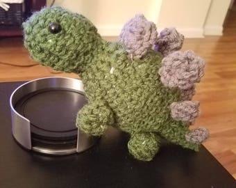 Stegosaurus Crochet Doll