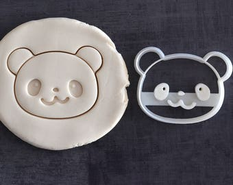 Cutter Panda - Panda cookie mold