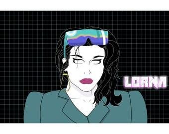 Lorna Print