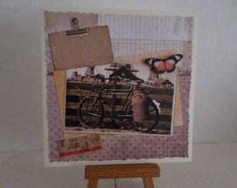 vintage bicycle for any occasion card