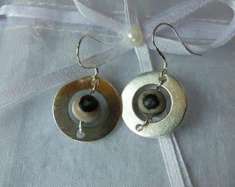 "Earrings ""Eye of the storm"""