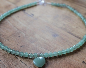 NATURAL AVENTURINE NECKLACE