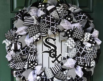 Chicago White Sox Wreath