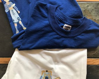 Victorian Blue Pajama Set