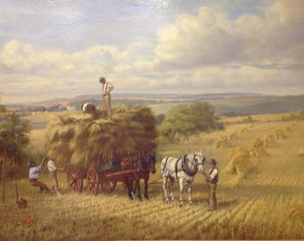 The Harvest     by George H Hart 1882 – 1929