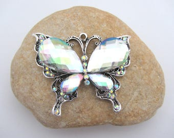 One big , large butterfly pendant,butterfly pendant