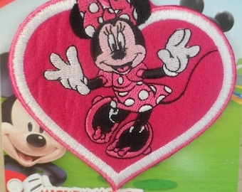 "fusible applique ""Minnie"" 9,3 x 10 cm"