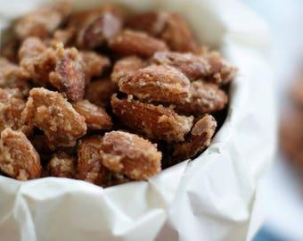 Candied Cinnamon Sugar Roasted Almonds