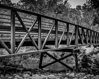 "Photo Print ""Peach Creek Bridge"""