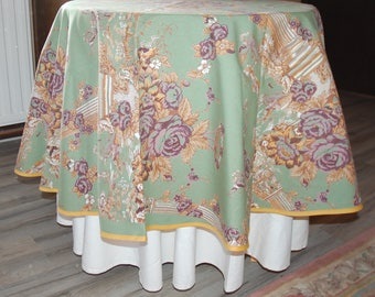 150 cm round TABLECLOTH