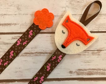Fox bow holder