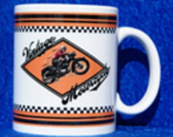 Mug ceramic Vintage Motorcycle sublimation
