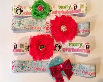 Newborn Christmas headbands