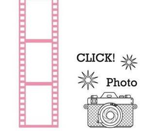 Die cut Marianne Design collectible Filmstrip new