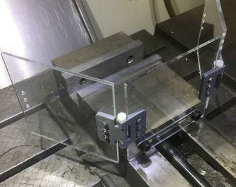 Milling Machine Chip Guard for 5in or 6in vise