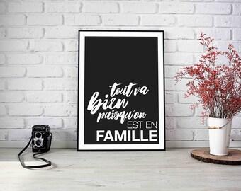 """Poster """"Family"""" theme"""