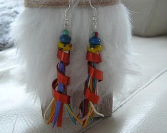 "Earrings ""Bohemian and place"""