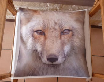 Wolf pattern cotton Cushion cover
