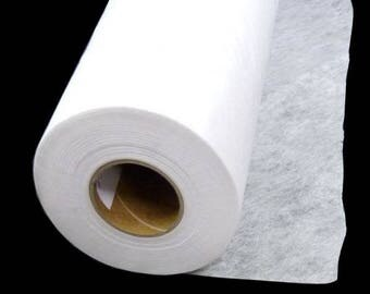 25 M roll fusible stabilizer for embroidery machine on T-shirt, jersey, stretch