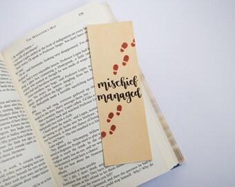 Mischief Managed bookmark