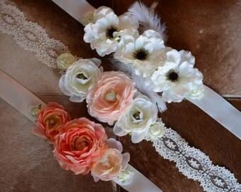 Floral Sash
