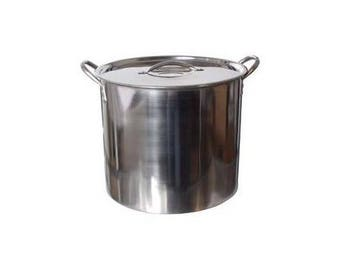 5 Gallon Stainless Steel Pot Kettle Home Wine Beer Making Homebrew Equipment