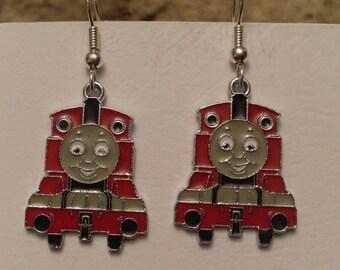 These earrings fun train 1