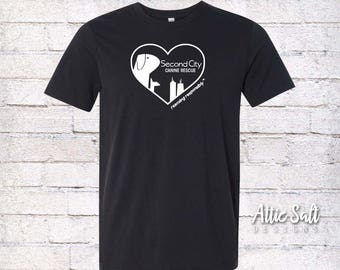 Jersey T-Shirt (Adult Unisex) - Heart Logo