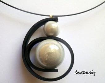 fantasy Choker necklace magical swirl