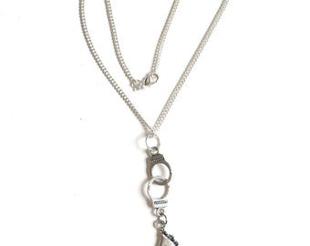 Necklace 50 shades of Grey handcuff and mask