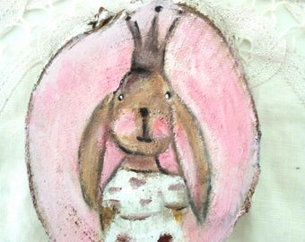 "Decoration for nursery girl ""Princess Bunny"""