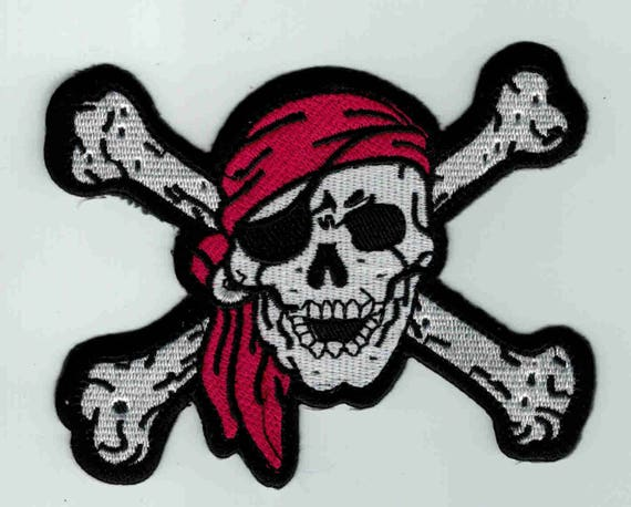 """Patch fusible trend pattern """"pirate"""""""
