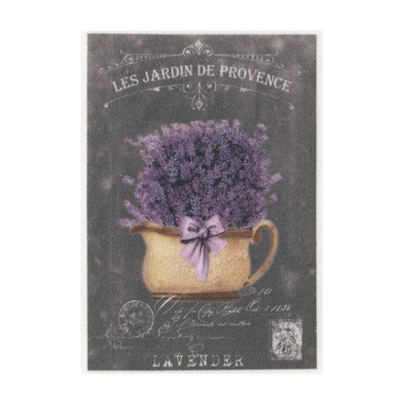 """Applied fusible - Collection """"Lavender background chalk"""" AT404 3"""