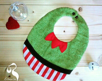 Bib reversible Santa's Elf