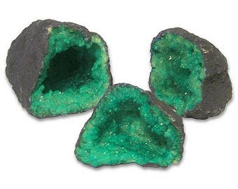 Colorful Geode - Green