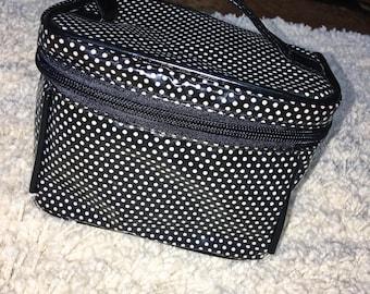 Small Polka Dot Makeup Bag