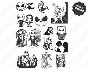 Nightmare svg, Nightmare, Nightmare png, Nightmare eps, Nightmare Vector Files, Nightmare Before Christmas SVG, DXF, Nightmare Clipart,