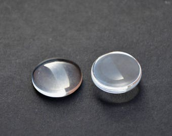 Lot 200 16mm glass Cabochons