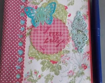 "Journal - workbook ""Feel The Breeze"""