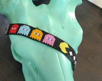 Miyuki geeky Pac - Man Cuff Bracelet