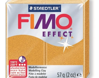 Fimo Effect 57 g - gold metallic 11 N - Ref 68020011 - while quantities last!