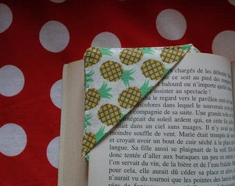 "Square bookmark ""Pineapple"" (pineapple)"