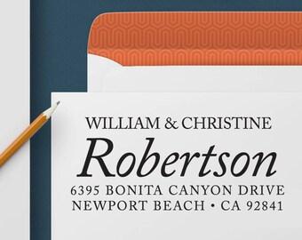 Return Address Stamp 353 - Self Inking Stamp, Custom Address Stamp, Custom Stamp, Personalized Address Stamp, Wedding and Housewarming Gift