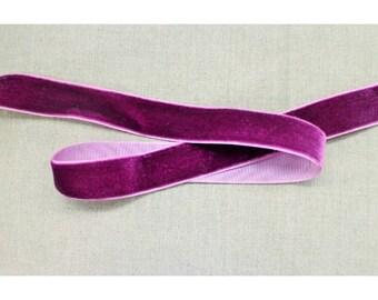 Velvet - 25 mm - Purple Ribbon