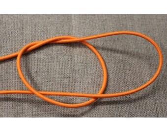 round elastic - 3 mm - orange