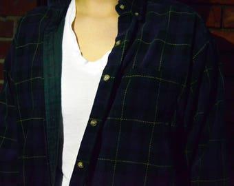 Vintage 90s Flannel Jacket
