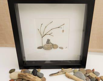 Pebble/Stone Art - 'Growing Together'