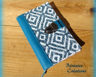 Protects notebook / Notepad retro turquoise
