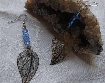 bead and charm earrings