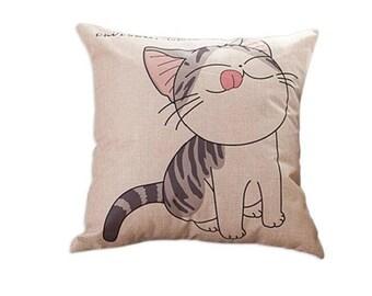 Cushion cat / kitten model n 3 43 x 43 cm